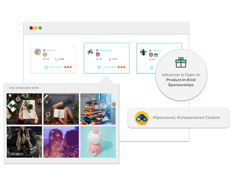 MuseFind | Contact influencers  Grow your business